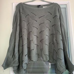 3 FOR $25! NWT Lightweight Poncho Sweater